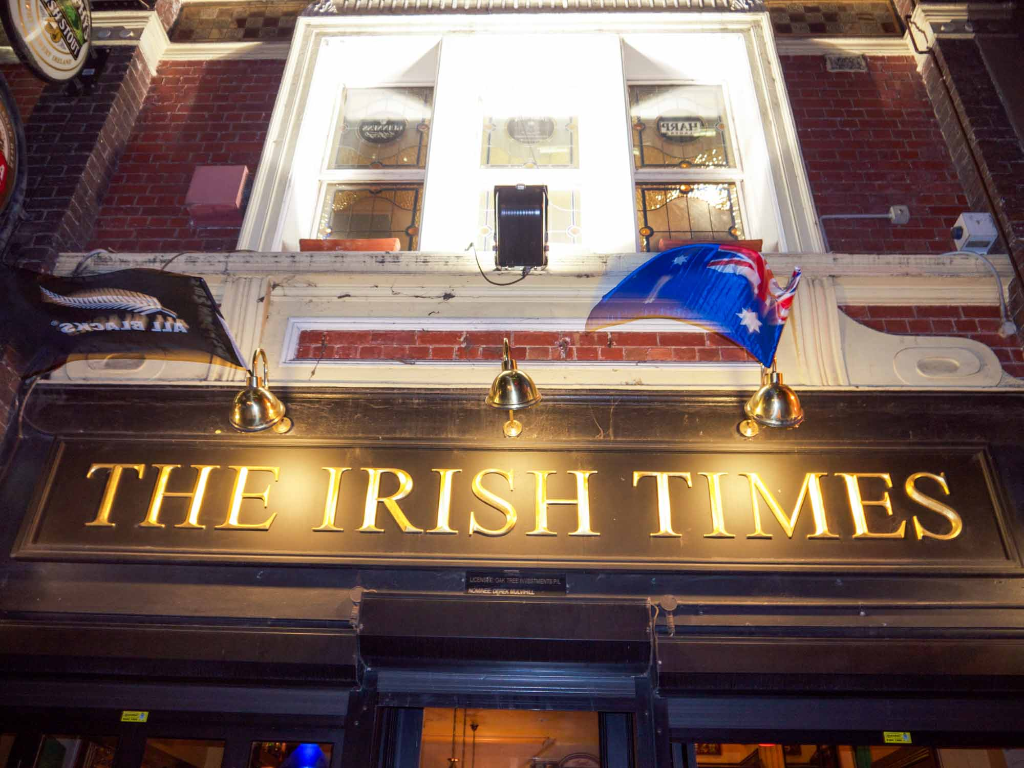 Functions At The Irish Times Pub